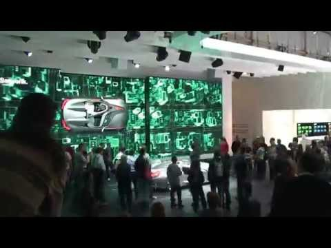 Messe-Zeitraffer: Time-Lapse Geneva International Motor Show 2011