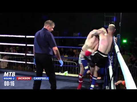 Darren Jackson vs Scott Campbell - 76kg