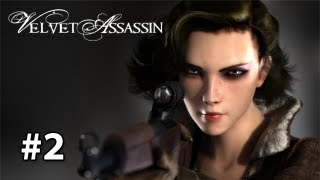 Velvet Assassin - Gameplay/Walkthrough [Pc] Part 2