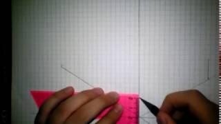 Простая деталь в изометрии
