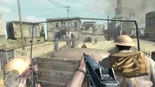 """Call of Duty 2"", walkthrough(Veteran),Ch.4-The Battle of El Alamein,part 4-The End of the Beginning"