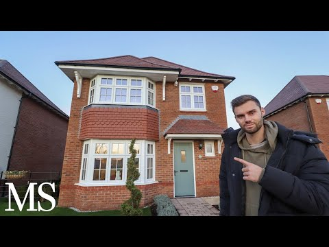 This 4 bed detached new build is only £360,000...is it worth it? (full house tour)