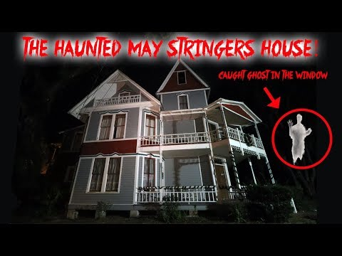 THE HAUNTED MAY STRINGER HOUSE // MR NASTY THE GHOST LIVES HERE!! Caught on Camera | MOE SARGI
