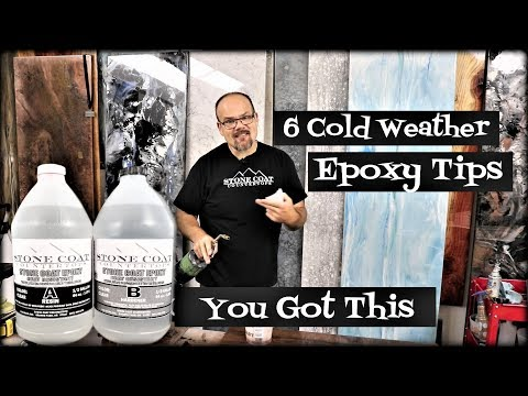 6 Cold Weather Epoxy Tips