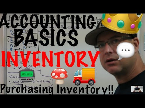 Accounting for Beginners #40 / Inventory / Asset / Journal Entry / Purchasing Inventory