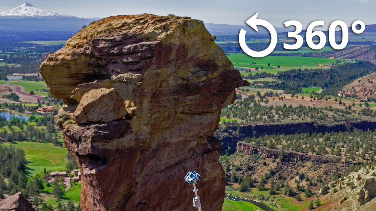 Hiking Smith Rock 360 Video