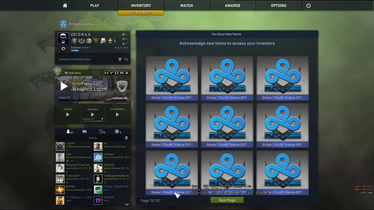 Buying 20 Cloud 20 Stickers   Krakow Major 20