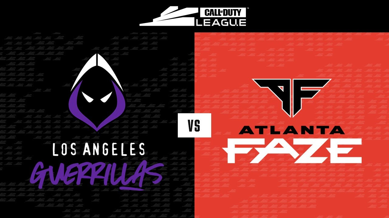 Group Stage Los Angeles Guerrillas Vs Atlanta Faze New York Subliners Home Series Day 1 Youtube