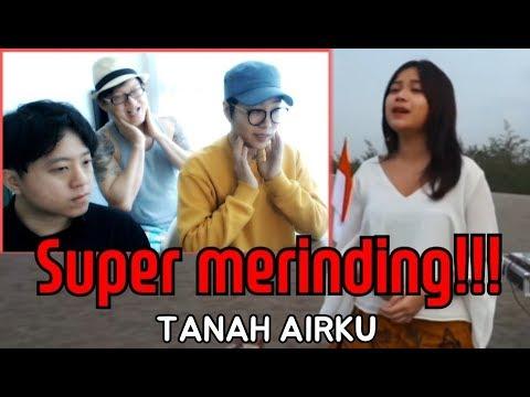 """ORANG KOREA SUPER MERINDING MENDENGAR """"TANAH AIRKU-LAGU NASIONAL INDONESIA"""