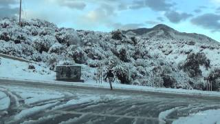 snow part 3 the aftermath horsethief canyon lake elsinore wildomar ca 12 31 2014
