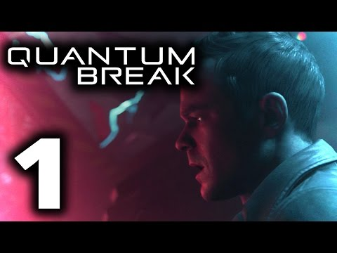 "Campus Shootout! | Quantum Break Let's Play #1 (""The Number One Killer Is Time"" Act 1)"