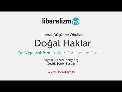 Liberal Düşünce Okulları: Doğal Haklar