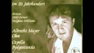 R. Vaughan Williams, Concert for Oboe. Albrecht Mayer, Oboe 1