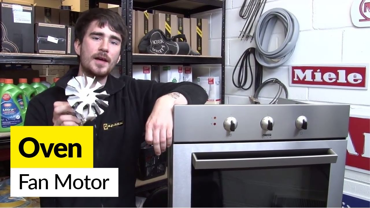 How To Replace An Oven Fan Motor In Electric Cooker Youtube Wiring Diagram Further Dual On
