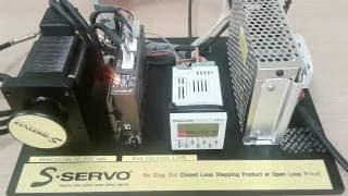 ควบคุมการหมุนของ S-Servo ผ่าน PLC Panasonic โดย บริษัท ไทยซัพพอร์ท เอ็นจิเนียริ่ง จำกัด