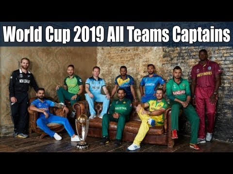 Pic of world cup captain 2019