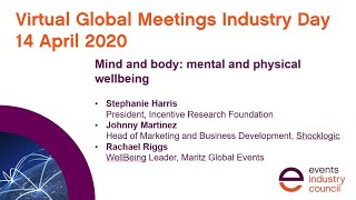 #GMID20 webinar | Mind & body: mental and physical wellbeing