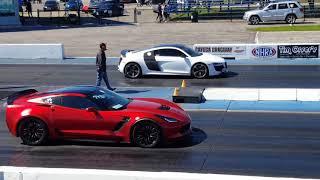 2016 Corvette Z06 vs Audi R8