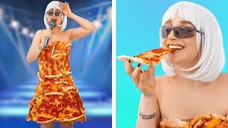 Как пронести еду на концерт / Смешные трюки с едой
