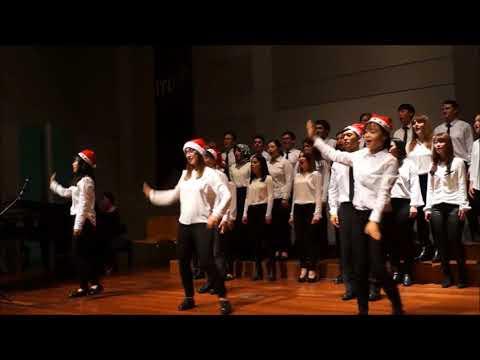 Eurasia Youth Choir 18 Dec 2017 Feliz Navidad