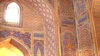 видео Площадь Регистан в Самарканде
