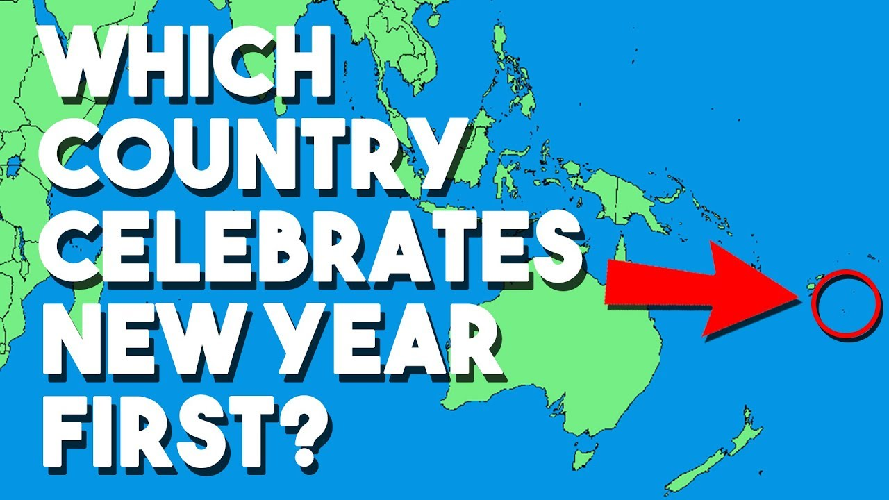 Which country celebrates New Year first | One minute facts ...