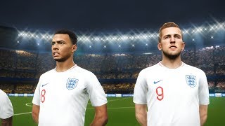 Colombia v England - PES 2018 - FIFA World Cup 2018 Patch