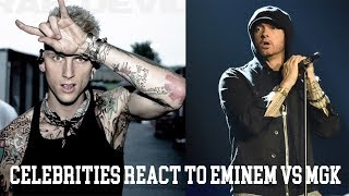 Baixar Celebrities React To MGK's Diss Track On Eminem -