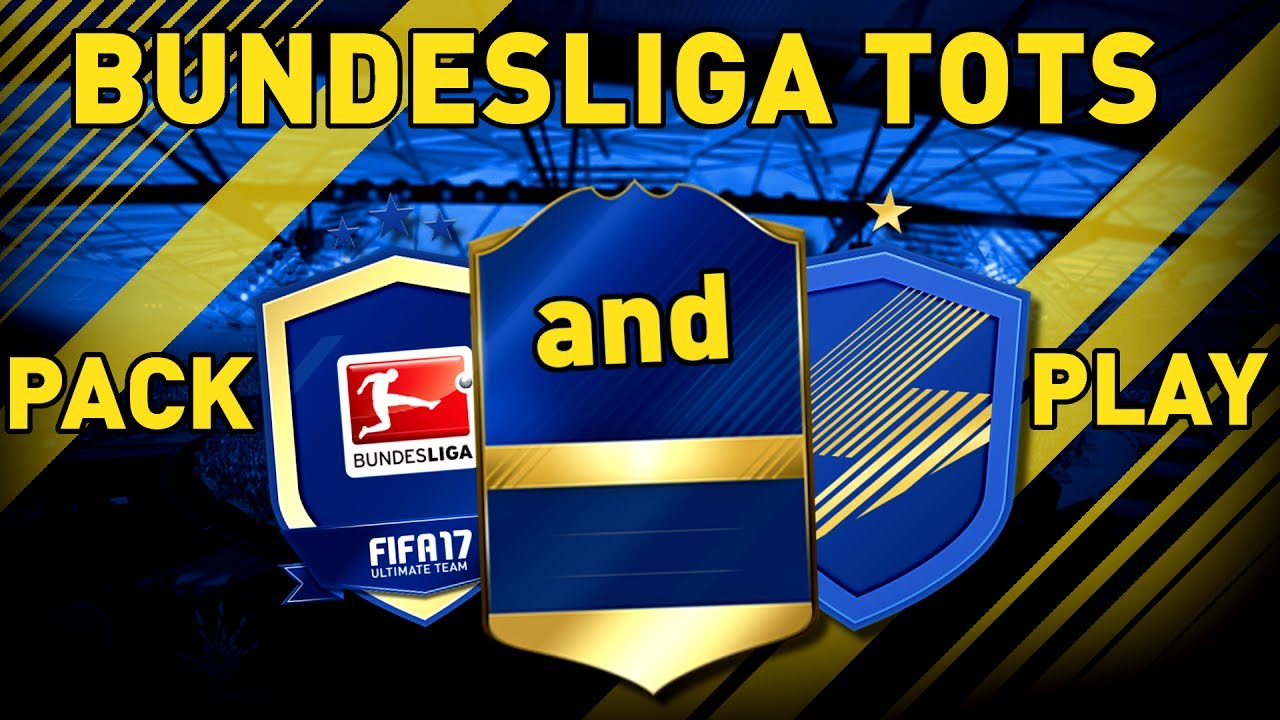 Fifa 17 Bundesliga Tots