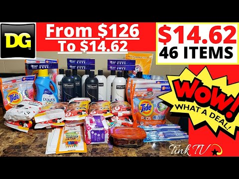 😱💥DOLLAR GENERAL COUPONING💥FM $126 To $14.62💣DIGITAL GLITCHES,FREEBIES,OVERAGE😍PAPER & DIGITALS USED