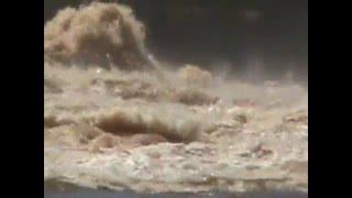Represa Salto Grande en plena Inundacion Concordia Entre Rios