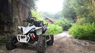 Welcome To Rainy England - Road Legal Yamaha Yfz450R Quad Bike