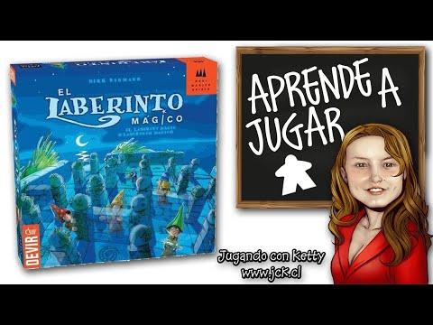 Laberinto Magico Juego De Mesa Boardgame Youtube