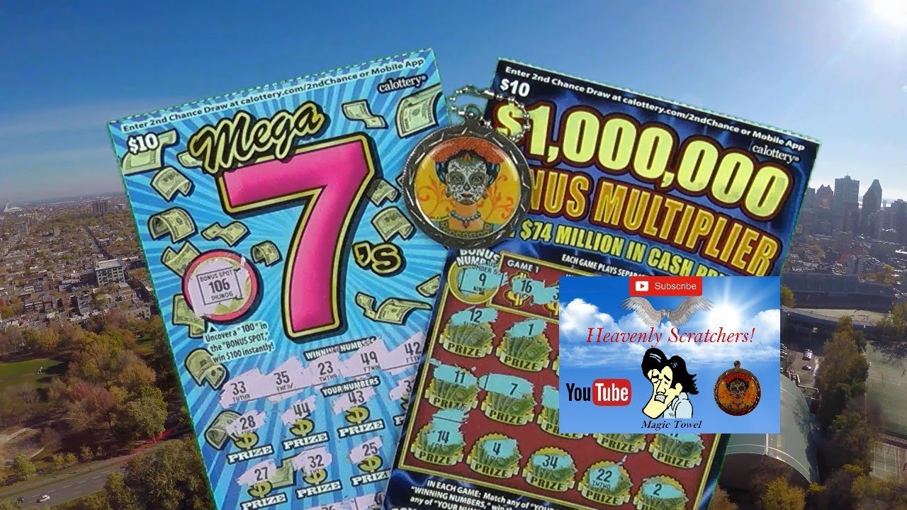 $10 Mega 7's $10 $5,000,000 Bonus Multiplier Scratchers!!!!!!!