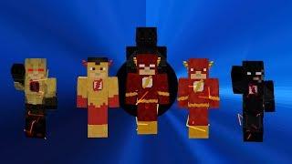 The Flash/Speedsters Mod (Legends Minecraft Mod) Sum 6.0 Suit Showcase