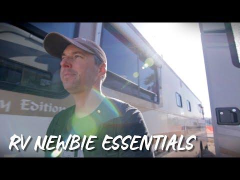 RV Essentials for RV Newbies