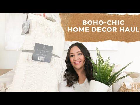 HOME DECOR HAUL   BOHO-CHIC INSPIRED