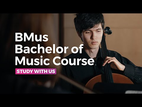 BMus Bachelor of Music Course at the RNCM