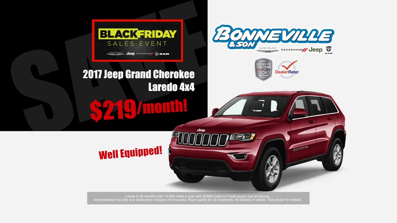 Bonneville And Son >> Bonneville And Son Black Friday All Month Long