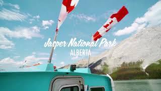 Jasper National Park, Alberta cinematic video