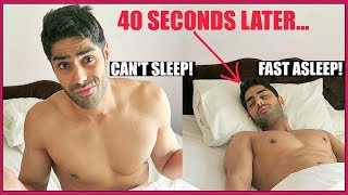 how to sleep fast and wake up early