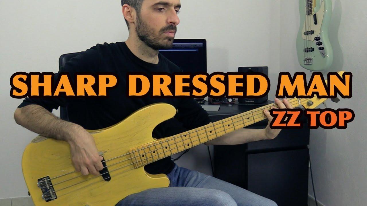 Sharp Dressed Man Zz Top Bass Cover Bruno Tauzin Youtube