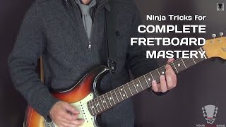 Ninja Tricks for Complete Guitar Fretboard Mastery(Here are some ninja tricks to help you master the fretboard. If you enjoyed this video would you take one minute to vote for me, Erich Andreas, as TrueFire's Next ..., 2014-11-24T23:00:01.000Z)