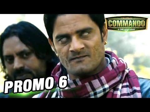 Commando | Movie Promo 6 | Vidyut Jamwal & Pooja Chopra
