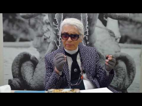 Fendi Spring/Summer 2017: Interview with Karl Lagerfeld and Silvia Venutirini Fendi