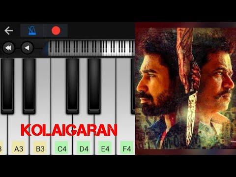 kolaigaran BGM | Theme Music | Easy Piano Tutorial | Perfect piano thumbnail