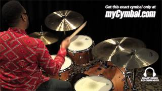 "Istanbul Agop 18"" Signature Mel Lewis 1982 Crash Ride Cymbal Played by Terence Clark (ML18-1121113M)"