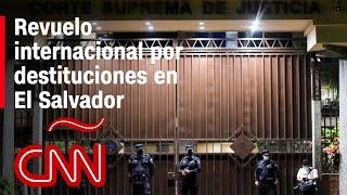 Sensible situación política en El Salvador tras destitución de magistrados y fiscal