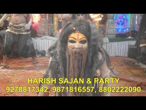 shiv-aghori jhanki by harish sajan & party