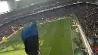 Accoglienza della Nord al ritorno di Ronaldo